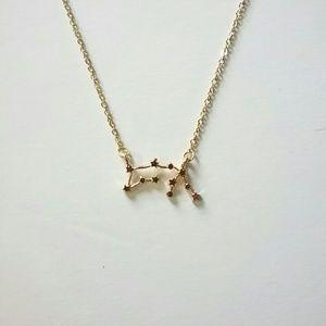 💕4/$25💕Aquarius Zodaic Constellation Necklace